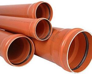 Väliskanalisatsiooni toru PVC SN8